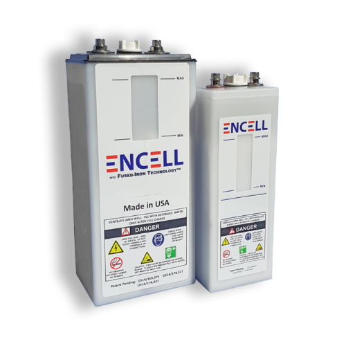 Batteries ENCELL Nickel-Fer