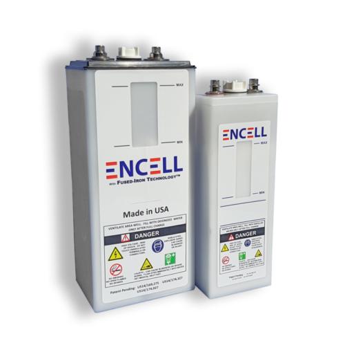 Batteries ENCELL Nickel-Fer