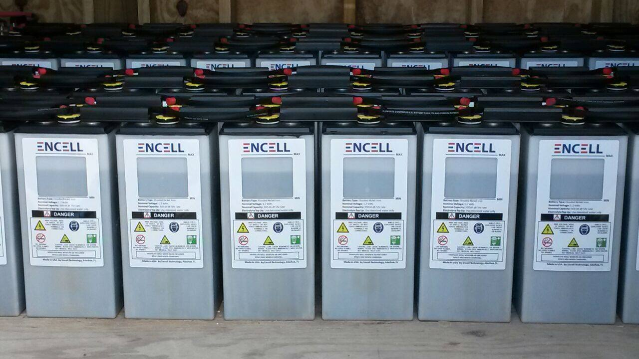 Batteries durables Nickel-Fer